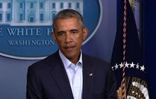 """Obama urges Ferguson authorities, protesters: Don't """"simply holler at each other"""""""