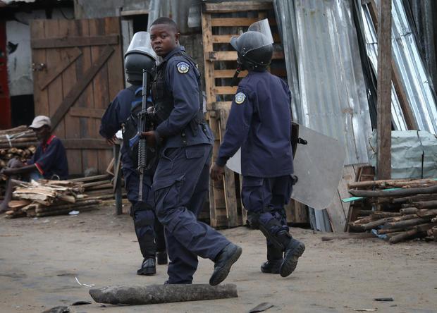 Combating Ebola in Liberia