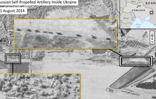 Russian military moving heavy artillery into Ukraine