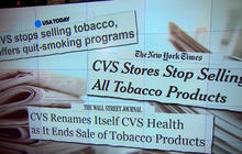 CVS pulls all tobacco products from store shelves