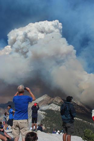 Fire in Yosemite