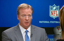NFL commissioner Roger Goodell responds to Janay Rice