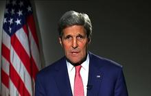 """John Kerry: U.S. won't """"coordinate"""" anti-ISIS campaign with Syria"""