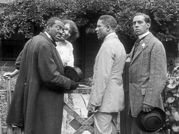 Oldest surviving film of black actors found