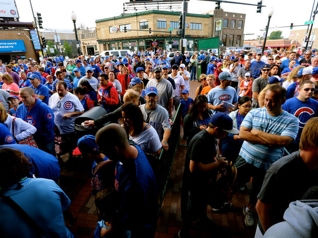 A day at Wrigley Field in its 100th year