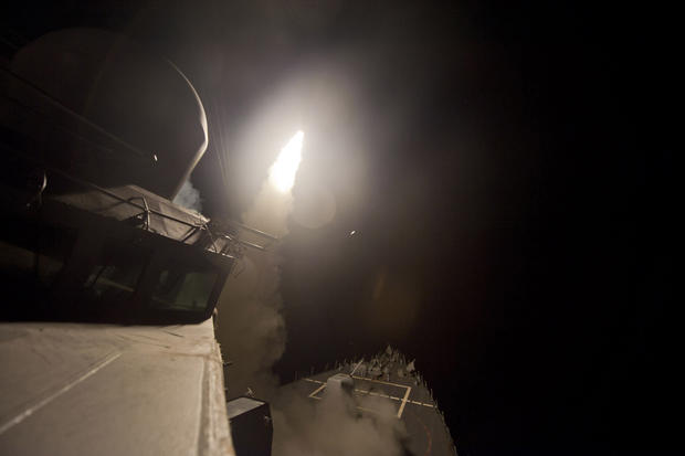 U.S. strikes ISIS in Syria