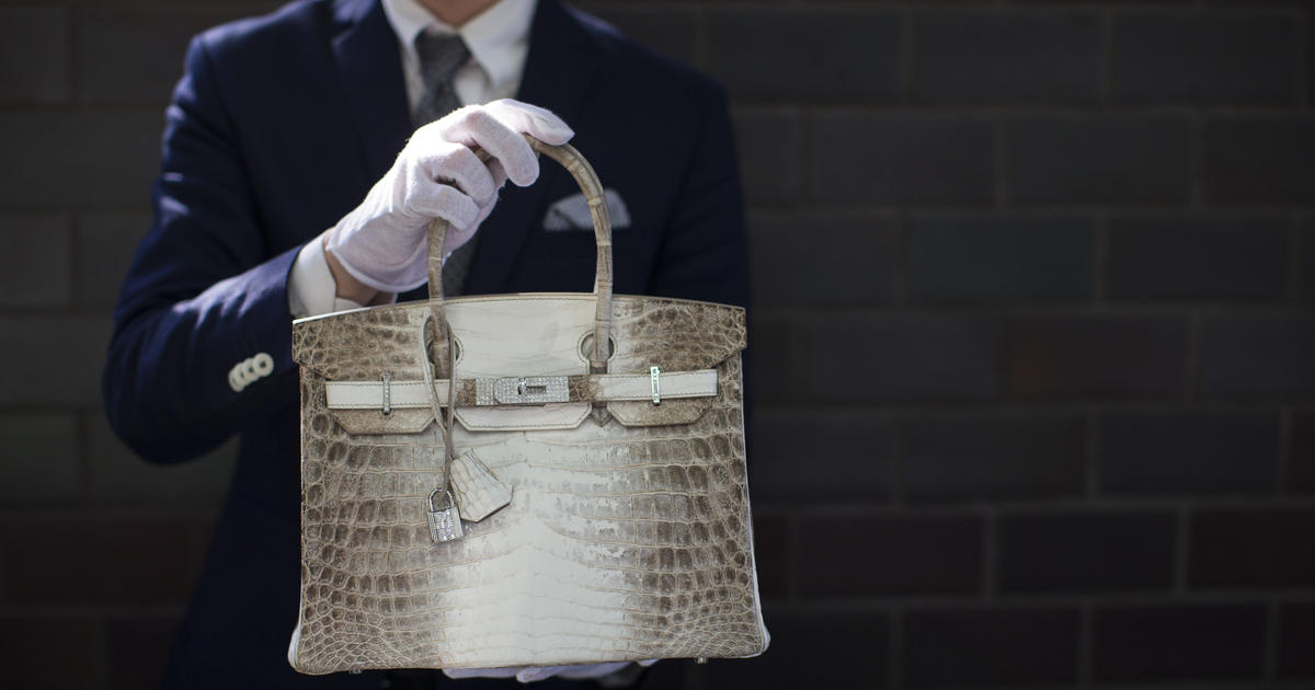 fc0d01a54e Hermès crocodile Birkin bag just sold in London for nearly  300