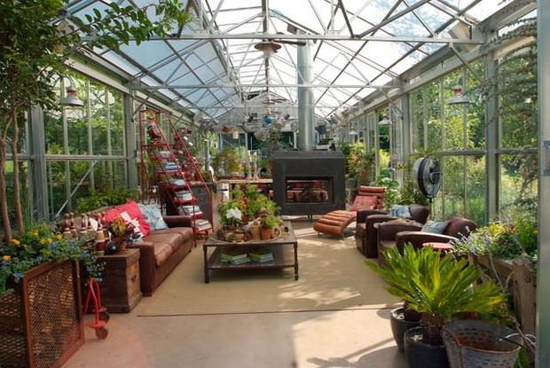 Awesome Pennsylvania Greenhouse Patio   5 Greenhouses That Are Actually Homes   CBS  News
