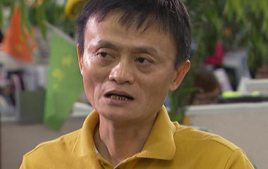 Jack Ma explains Alibaba's payment system Alipay
