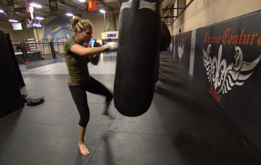 Karina Taylor on her career in Mixed Martial Arts