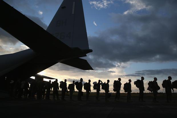 U.S. troops fight Ebola