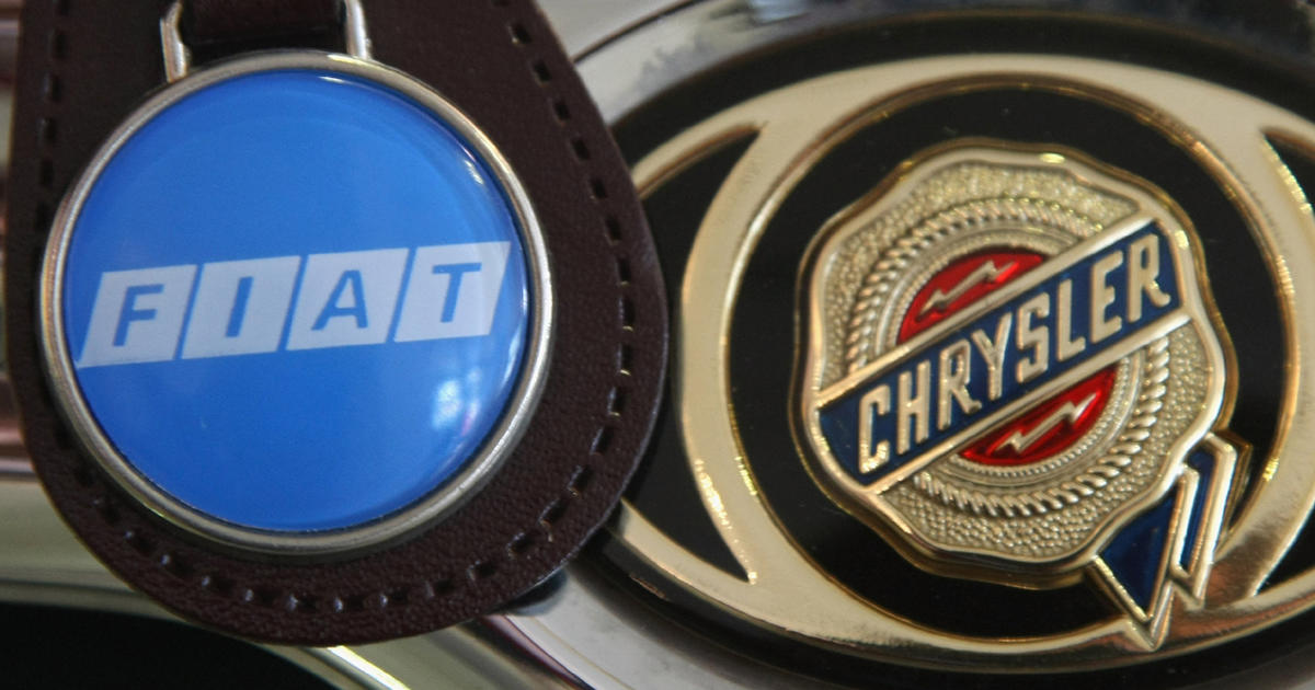 Fiat Chrysler Shares Fall In Nyse Debut Cbs News