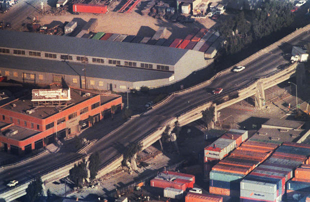 Oakland Bay Area Earthquake 25 Years Later Pictures