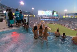 Nfl Teams Redefine The In Stadium Experience With Pools And Wifi To Bring Fans Back Cbs News