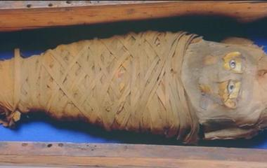 Newly-found Egyptian mummy undergoes autopsy
