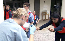 American doctor shares experience fighting Ebola