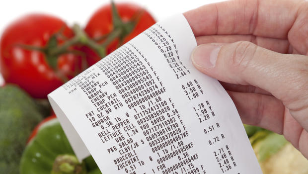 Bpa chemical may lurk in cash register receipts cbs news for Budget cuisine