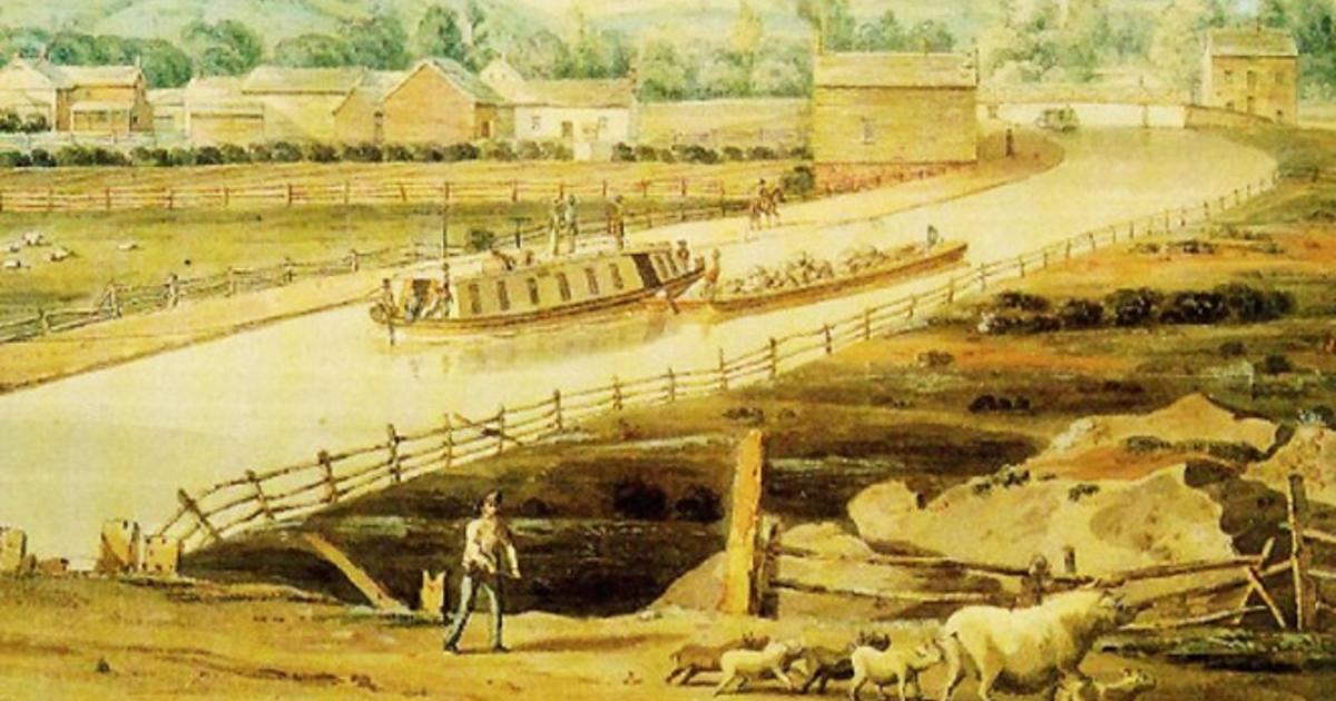 Almanac The Erie Canal Cbs News