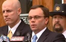 Prosecutor speaks after Eric Frein's arraignment