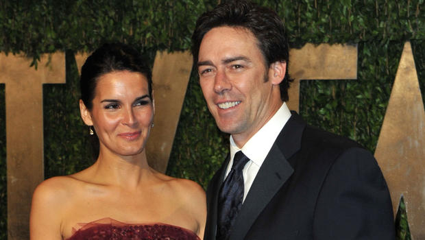 Angie Harmon And Jason Sehorn Split After 13 Years Of Marriage Cbs
