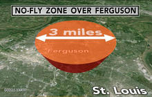 Was no-fly zone set up to keep news media out of Ferguson?
