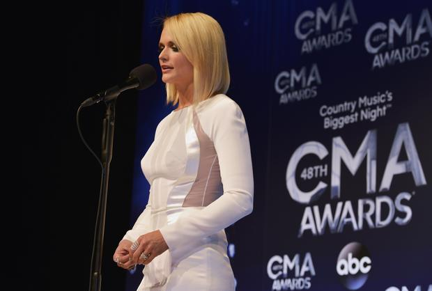 CMA Awards 2014 press room