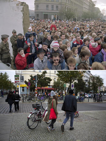 Berlin Wall - Now and Then