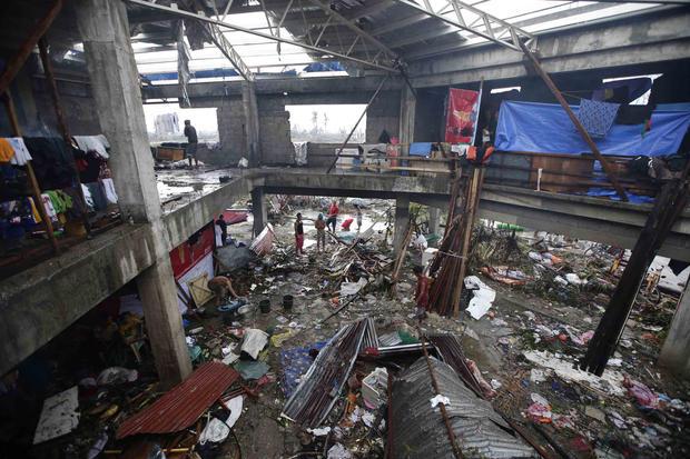 Typhoon Haiyan anniversary
