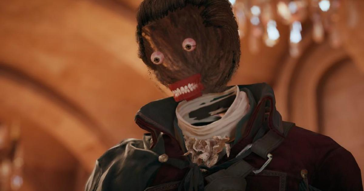 Assassin S Creed Unity Game Mocked For Disappearing Faces Other