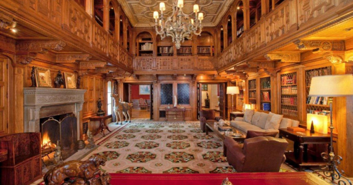 10 of the worlds most expensive homes cbs news Old home interior pictures value
