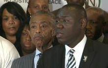Representatives of Michael Brown's family make statement