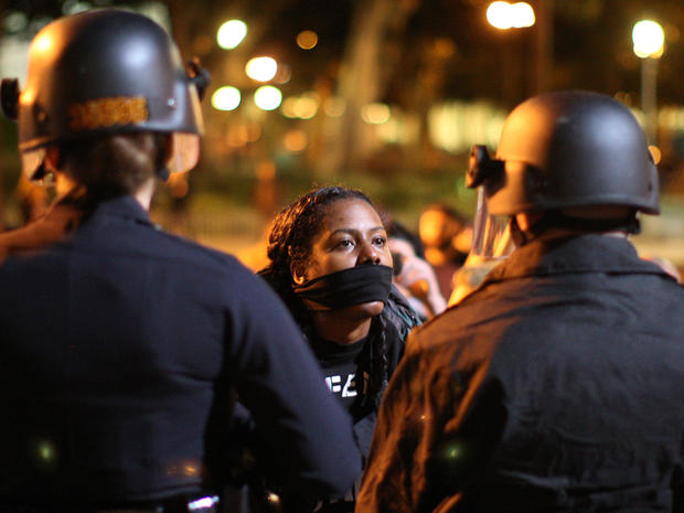 Protests after grand jury declines charges