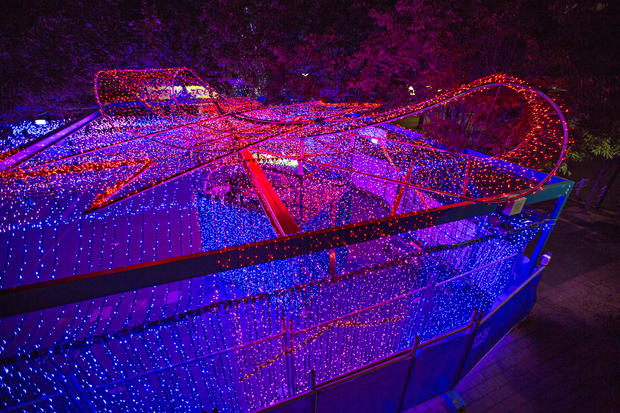Record-breaking Christmas light display