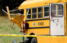 Two children, one adult killed in Tennessee school bus crash
