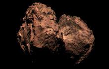 "Rosetta probe captures ""color"" photo of Comet 67-P"