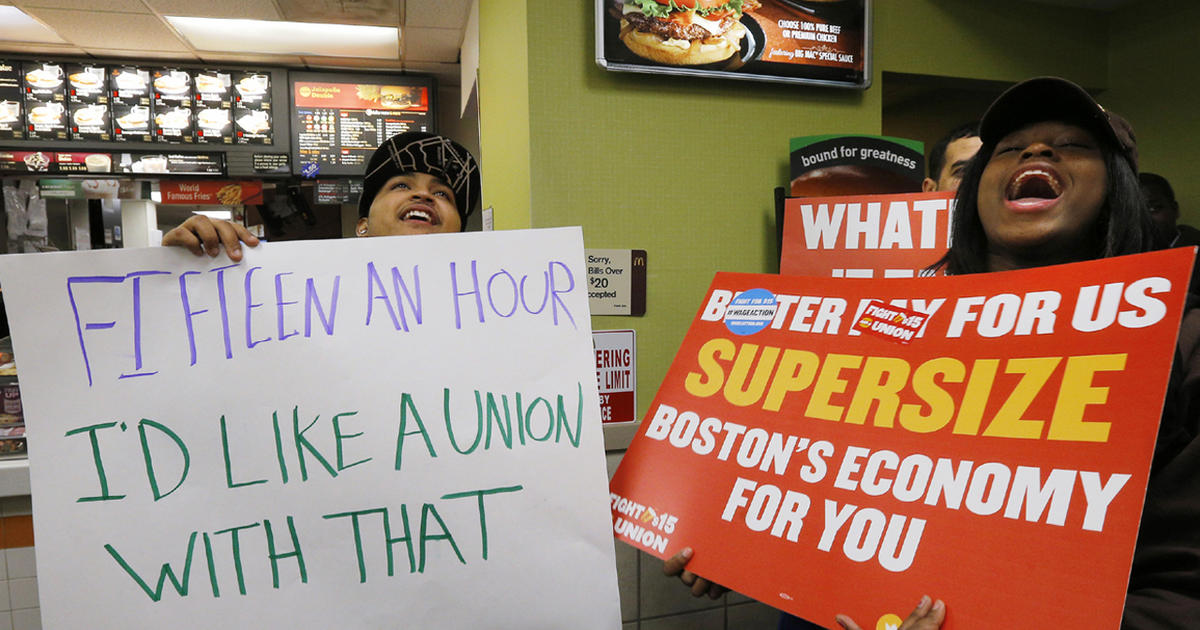 Fast-food nation: Workers stage nationwide protests - CBS News