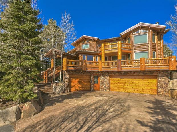 Sun valley idaho 10 luxurious log cabins on the market for Affitto cabina park city utah
