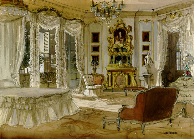 Scarlett S Bedroom The Making Of Quot Gone With The Wind
