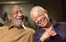 """Bill Cosby's wife asks, """"Who is the victim?"""""""