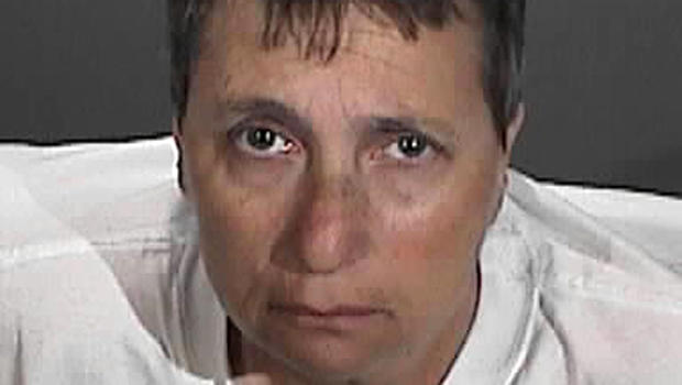 Margo Bronstein, 56, is seen in an undated booking picture provided by the Redondo Beach Police Department in California.