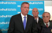 "NY Mayor: ""Our city is in mourning"" after NYPD officers killed"