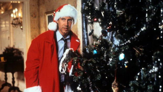 christmas vacation prank highway sign changed to clark griswold cbs news - Griswold Christmas