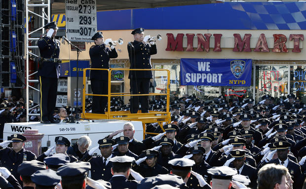 Slain NYPD officers mourned