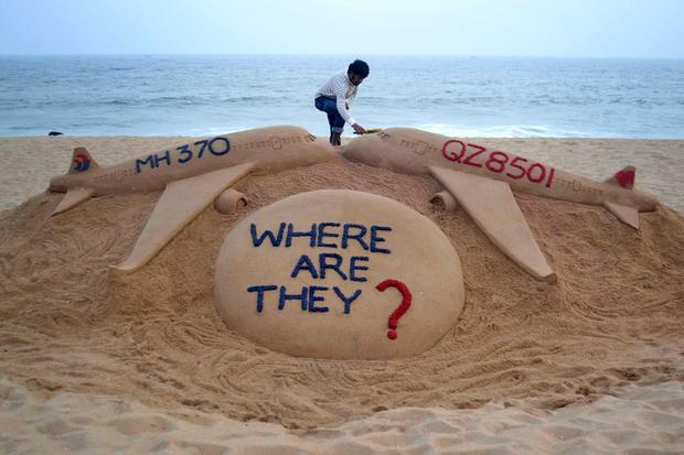 The disappearance of Malaysia Flight 370
