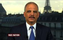"""Eric Holder: There is a """"possibility"""" for Paris-style attacks in the United States"""