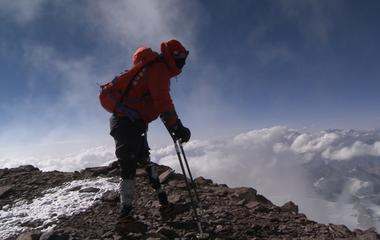 Brad Ivanchan summits South America'' Mt. Aconcagua