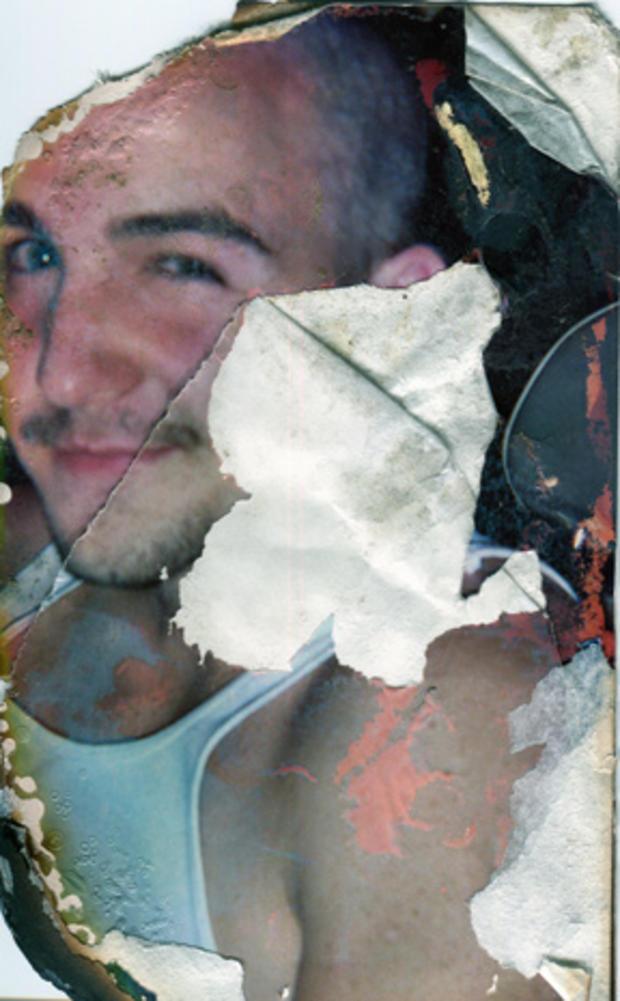 Charred photo of Robert Pape