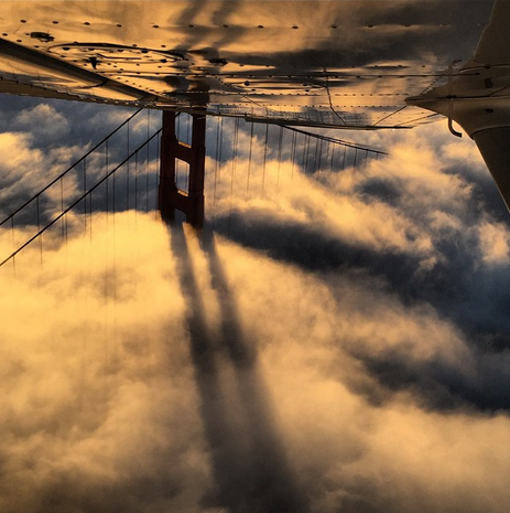 San Francisco Bay from above