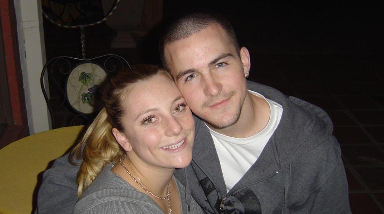 Becky Friedli and Robert Pape