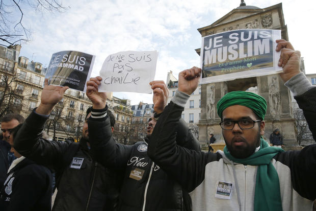 Protests break out around the world against Charlie Hebdo